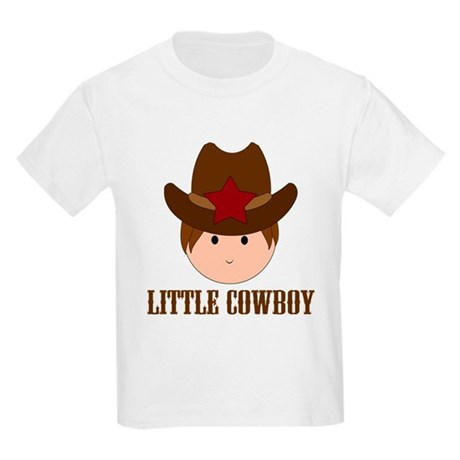Cute Little Cowboy Kids Light T-Shirt