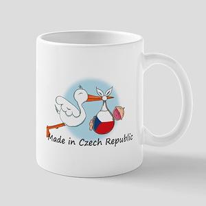 Stork Baby Czech Republic Mug