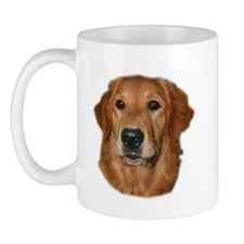 Head Study Golden Retriever Mug