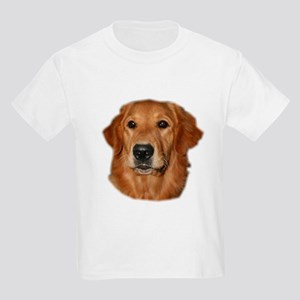 Head Study Golden Retriever Kids T-Shirt