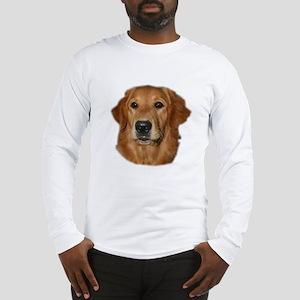 Head Study Golden Retriever Long Sleeve T-Shirt