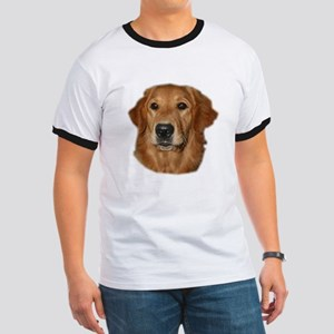 Head Study Golden Retriever Ringer T