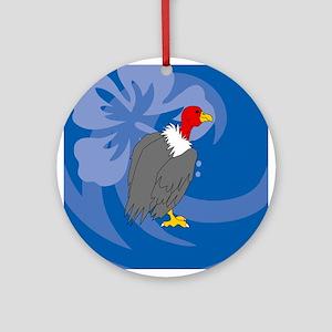 Vulture Ornament (Round)