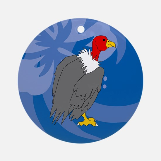 Vulture Ornament (Round)