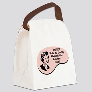 wg004_Administrative-Assistant Canvas Lunch Bag