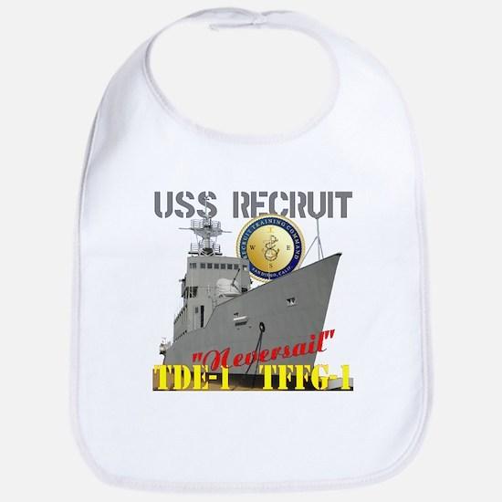 USS Recruit Bib