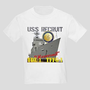 USS Recruit Kids Light T-Shirt