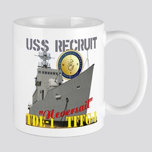 USS Recruit Mug