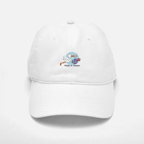 Stork Baby Greece Baseball Baseball Cap