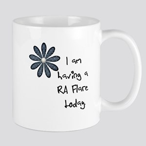 Flower : I am having a RA flare Mug