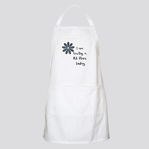 Flower : I am having a RA flare Apron