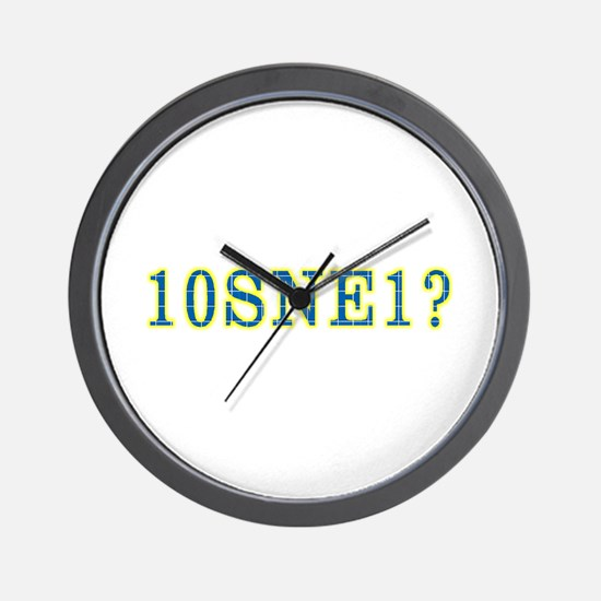 Unique Puzzle Wall Clock
