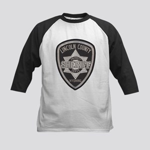 Lincoln County Deputy Sheriff Kids Baseball Jersey
