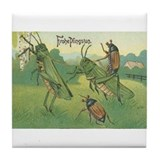 Pfingsten Tile Coasters