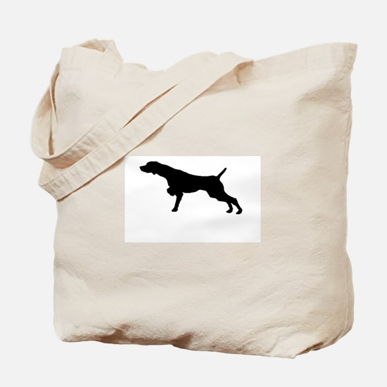 Cute German shorthair pointer Tote Bag