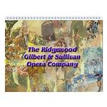 2013 Gilbert & Sullivan 12-pg Calendar