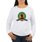 Buy a Lager For a Logger Women's Long Sleeve T-Shi