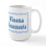 Winona Minnesnowta Large Mug