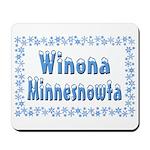 Winona Minnesnowta Mousepad