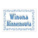 Winona Minnesnowta Postcards (Package of 8)
