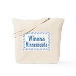 Winona Minnesnowta Tote Bag