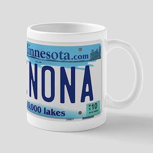 Winona License Plate Mug