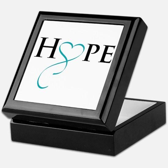 Unique Hope Keepsake Box