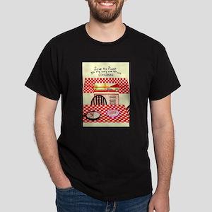 PLANET CORNBREAD! Dark T-Shirt
