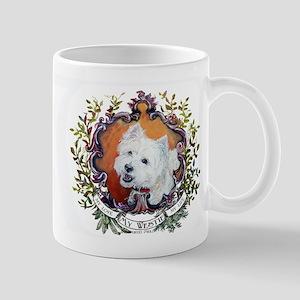 West Highland White Terrier Portrait Mug