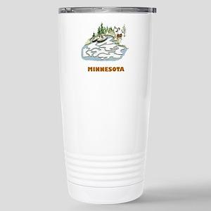 Minnesota Stainless Steel Travel Mug