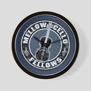 Mellow Cellos II Wall Clock