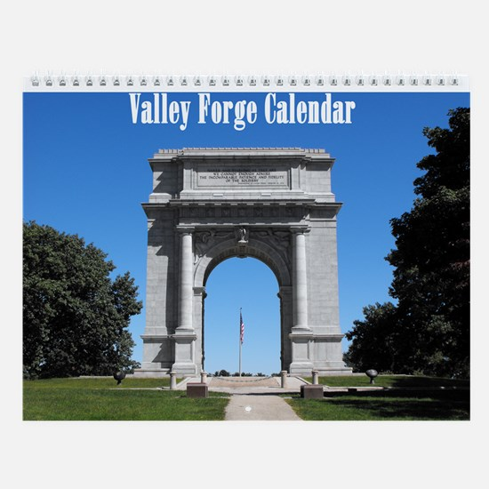 Valley Forge Wall Calendar
