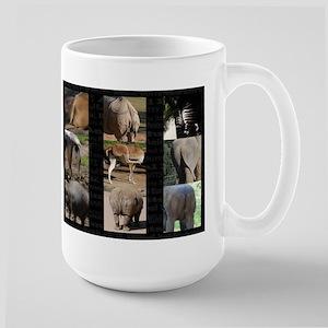 Animal Butts Large Mug