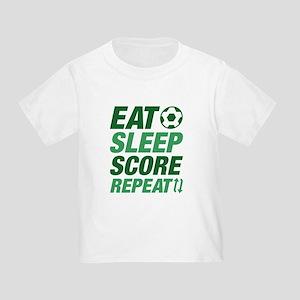 Eat Sleep Score Repea T-Shirt