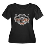 Tejano Music Women's Plus Size Scoop Neck Dark T-S