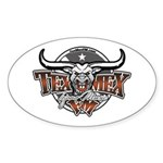 Tejano Music Oval Sticker