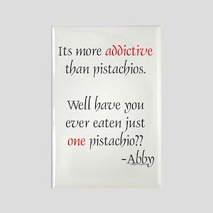 Addictive Pistachios Rectangle Magnet
