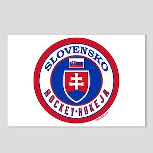 SK Slovakia/Slovensko Hockey Postcards (Package of