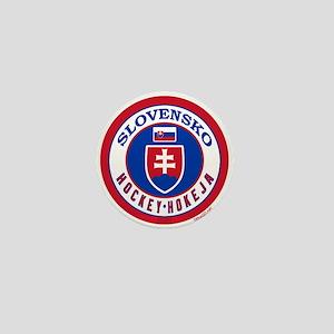 SK Slovakia/Slovensko Hockey Mini Button
