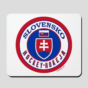 SK Slovakia/Slovensko Hockey Mousepad
