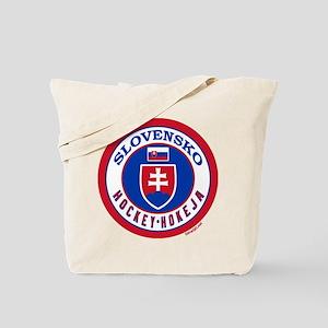 SK Slovakia/Slovensko Hockey Tote Bag