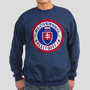 SK Slovakia/Slovensko Hockey Sweatshirt (dark)