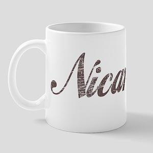 Vintage Nicaragua Mug