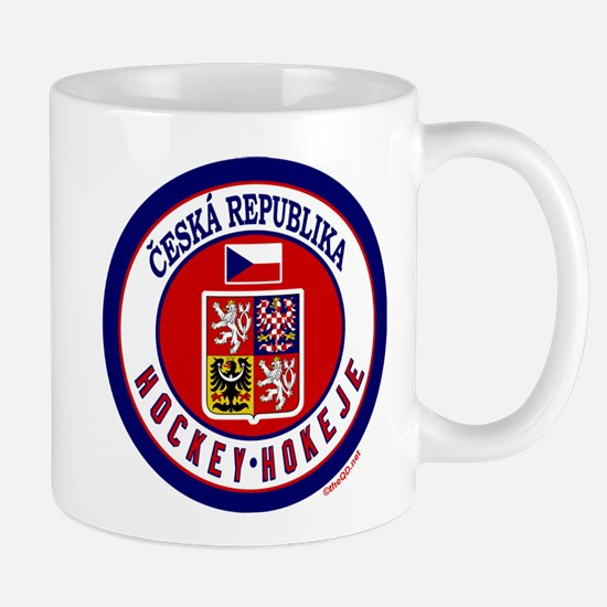 CZ Czech Rep Ice Hockey Mug