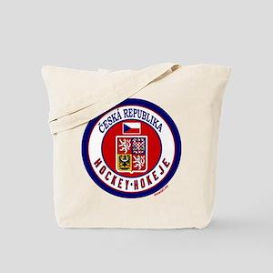 CZ Czech Rep Ice Hockey Tote Bag