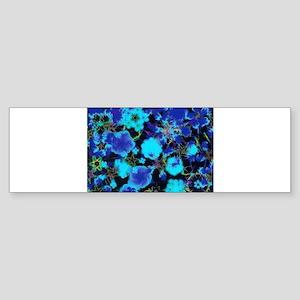 Blue Garden Bumper Sticker