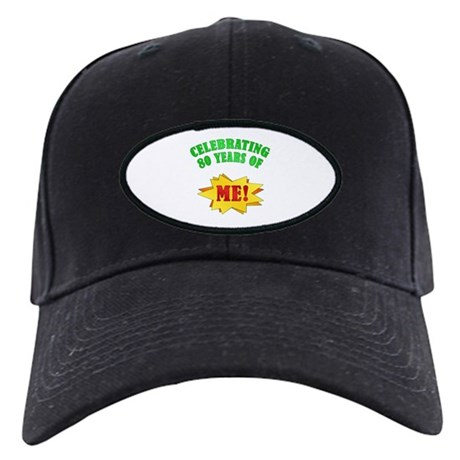 Funny Attitude 80th Birthday Black Cap