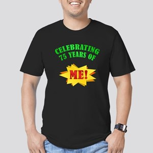 Funny Attitude 75th Birthday Men's Fitted T-Shirt