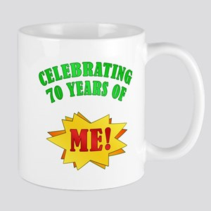 Funny Attitude 70th Birthday Mug