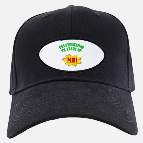 Funny Attitude 70th Birthday Baseball Hat